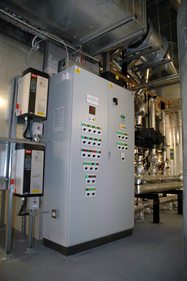 Heating And Ventilation Control Supplied By A Time Served