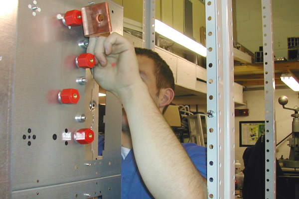 assembling an lv switchgear project
